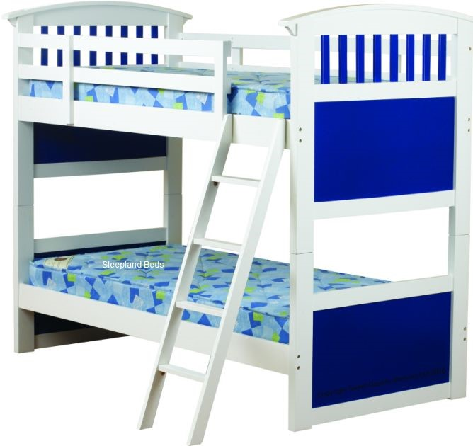 Sweet Dreams Apollo Wooden Triple Bunk Bed Frame Bed