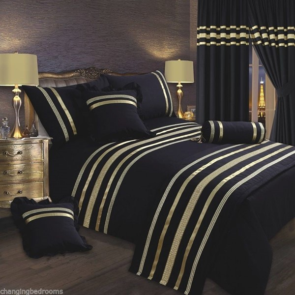 Changingbedrooms Com Black Gold Trim Hollywood Glamour