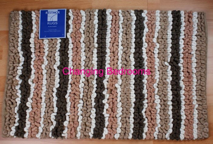 Changingbedrooms Com Multi Brown Stripe 100 Cotton Heavy