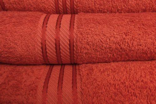 Changingbedrooms Com Plain Rust 550gsm Supreme Egyptian