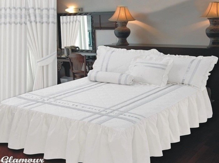 Changingbedrooms Com Superking Size Bed Glamour White