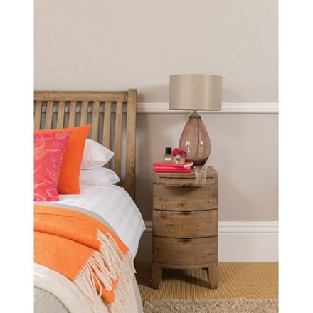 3 Drawer Bedside - Bermuda Bedroom Furniture