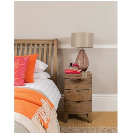 3 Drawer Bedside - Bermuda Bedroom Furniture
