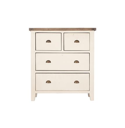 4 DRAWER CHEST - Cotswold Bedroom Furniture