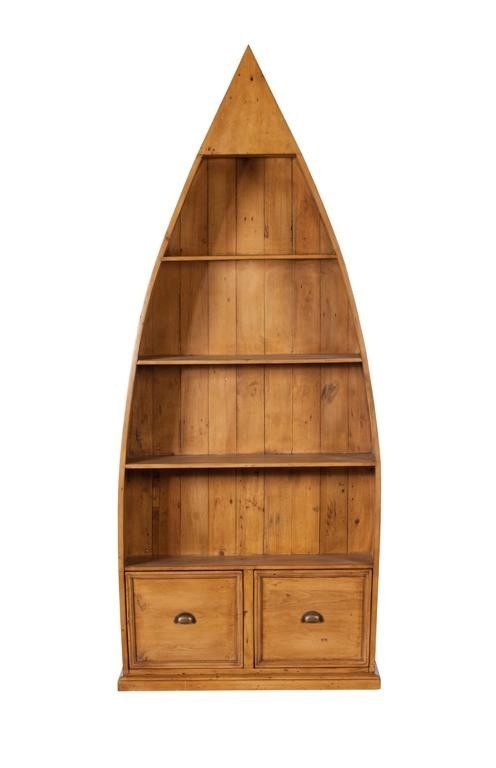 4 shelf dinghy bookcase - Cranfield Furniture