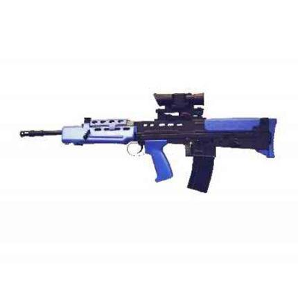 Airsoft BB Gun - HFC L85 SA80 Airsoft Rifle In Blue + 2000 free BBs