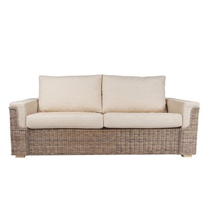 Bath 3 seater sofa - Cane Furniture by Desser