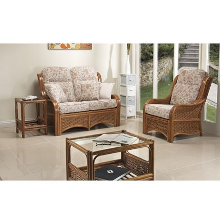 Berlin in Antique Brown - Cane Furniture by Desser