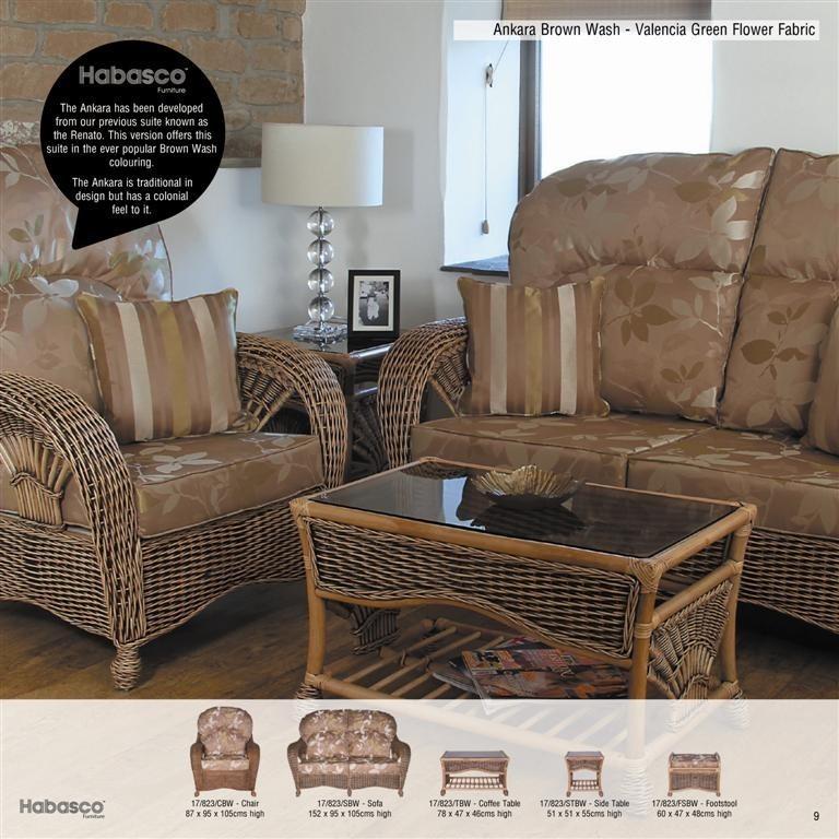 cane furniture ankara habasco