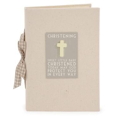Christening Photo Album boxed (East of India)
