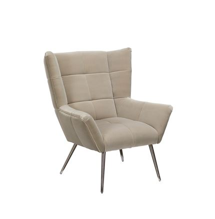 Cocktail Armchair - Grey