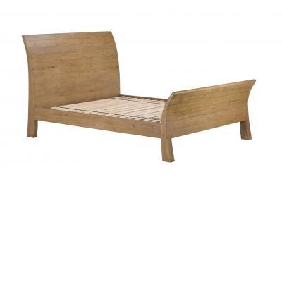 Double Panel Bed 150cm - Bermuda Bedroom Furniture