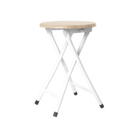 Foldable Stool - Grey