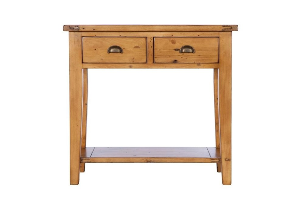 Hall table 2 drawer cranfield dining furniture Dining table with drawer