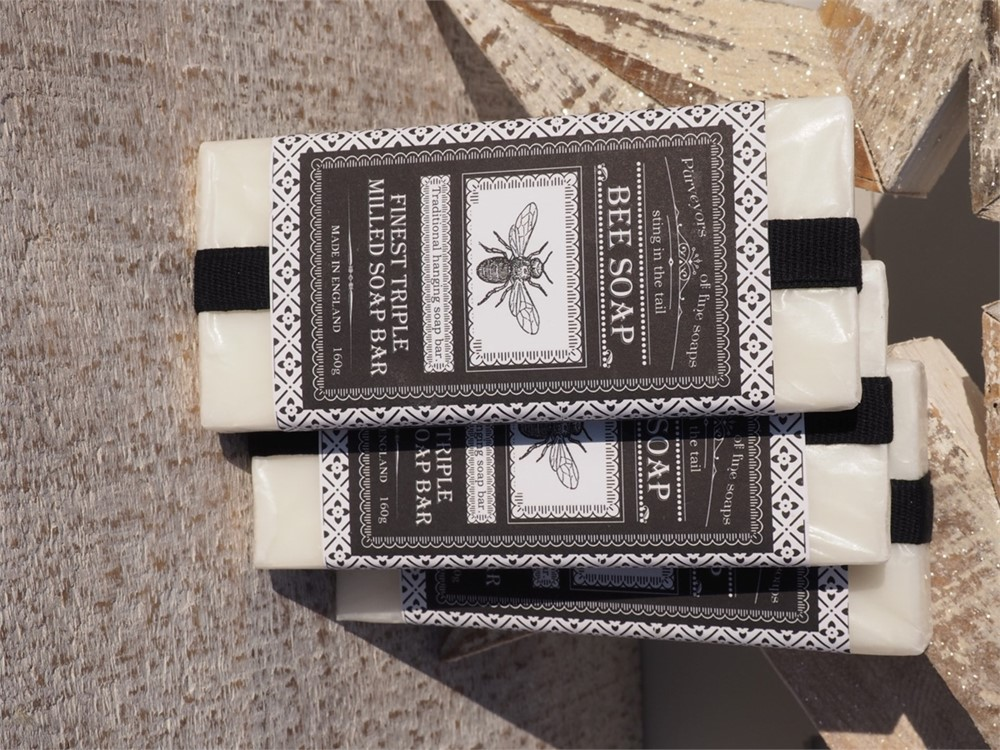 Hanging Bee Soap - Finest Triple Milled bar
