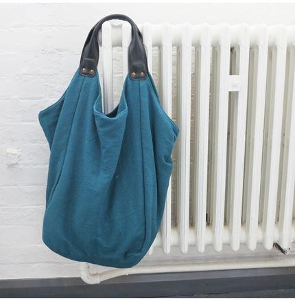 Hava Bag in Teal Green