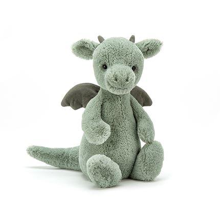 Jellycat soft toy - Bashful Dragon - Medium