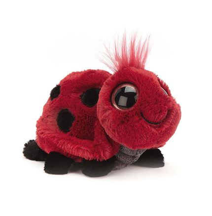 Jellycat soft toy - Frizzles Ladybird