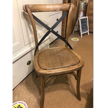 Maison Cross Back / bent wood Dining Chair - Oak