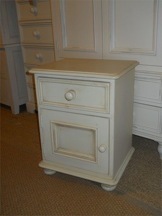 NOW SOLD - EX DISPLAY - Ascot Bedside in Butter Milk
