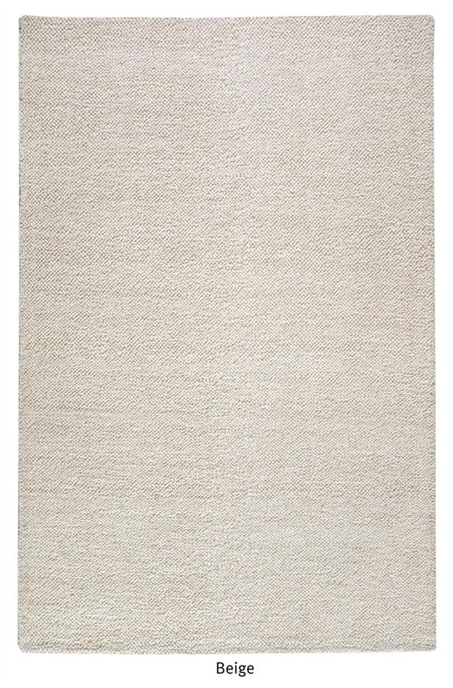 Pebbles Beige wool rug - 160 x 230cm