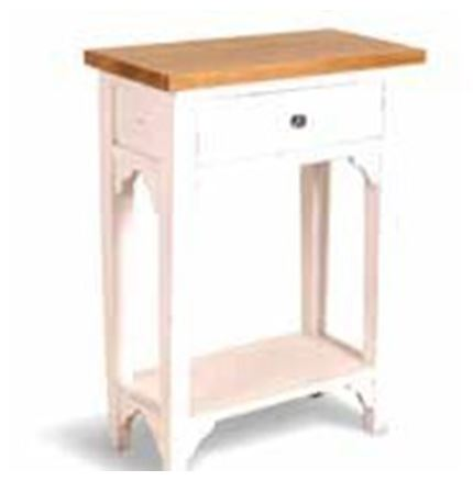 Provence Side table 1 Drawer 1 Shelf - hall stand
