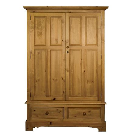 Rossendale Double Wardrobe With Drawers
