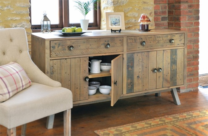 Rustica Dining Furniture - Large Sideboard