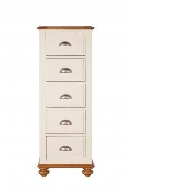 Salisbury Bedroom Furniture - 5 Drawer Tall Chest