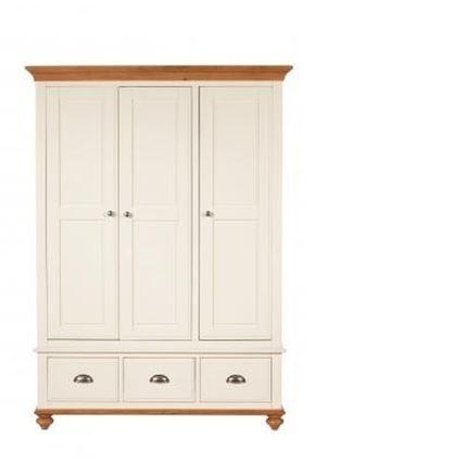 Salisbury Bedroom Furniture - Triple Wardrobe