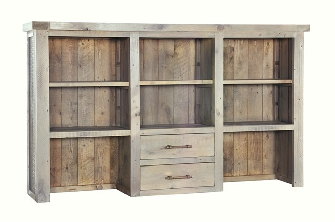 Saltash Dining Furniture - Dresser Top for Large Sideboard