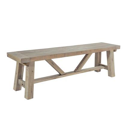 Saltash Dining Furniture - Long Bench 170cm