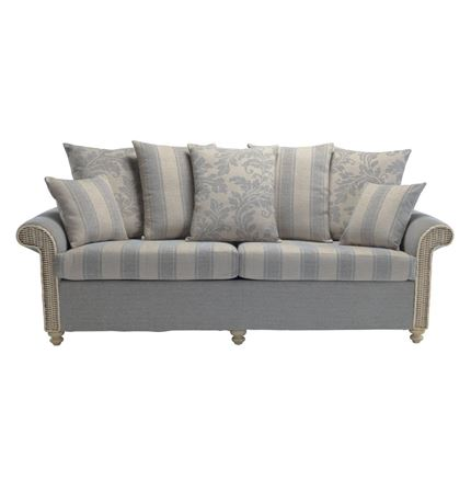 Stamford 3 seater sofa - Cane Furniture by Desser