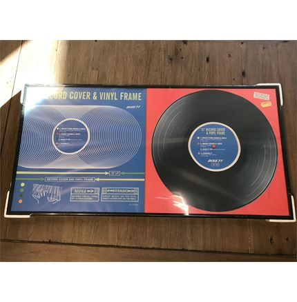 Vinyl Album - Sleeve and record Frame