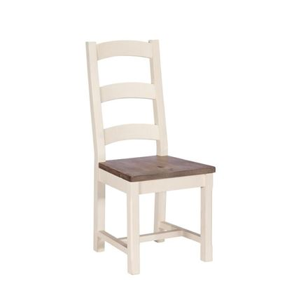 Wooden Seat Dining Chair - Cotswold Dining Furniture