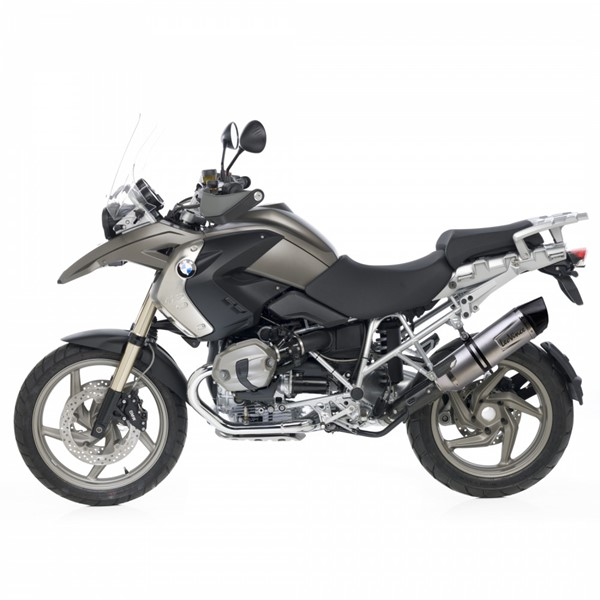 bmw r1200gs leovince lv one evo slip on exhaust. Black Bedroom Furniture Sets. Home Design Ideas