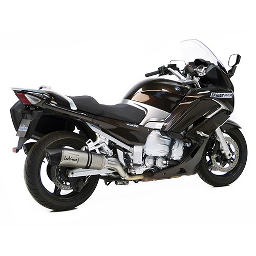 yamaha fjr1300 a as leovince lv one evo slip on exhaust. Black Bedroom Furniture Sets. Home Design Ideas