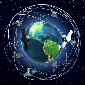 how gps and satellite work together Gps stands for global positioning system gps uses satellites that orbit earth to  send information to gps receivers that are on the.