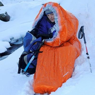 Blizzard survival bag - mountain safety