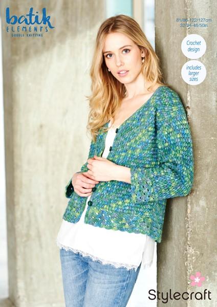 Free Stylecraft Batik Elements Crochet Pattern