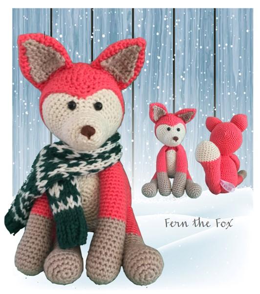Fern The Fox Pdf Downloadable Crochet Pattern