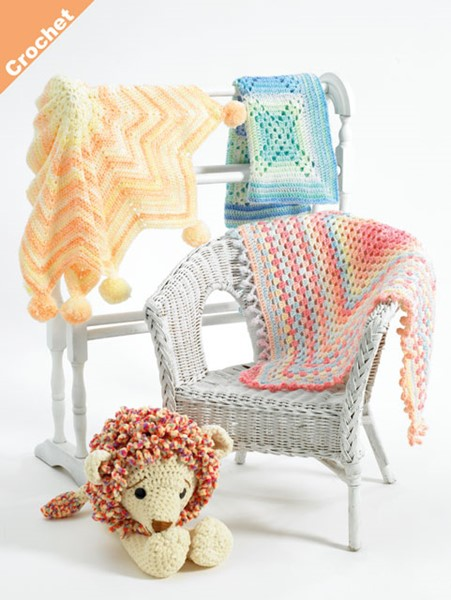 Home > Products > James C Brett Crochet DK Pattern JB408