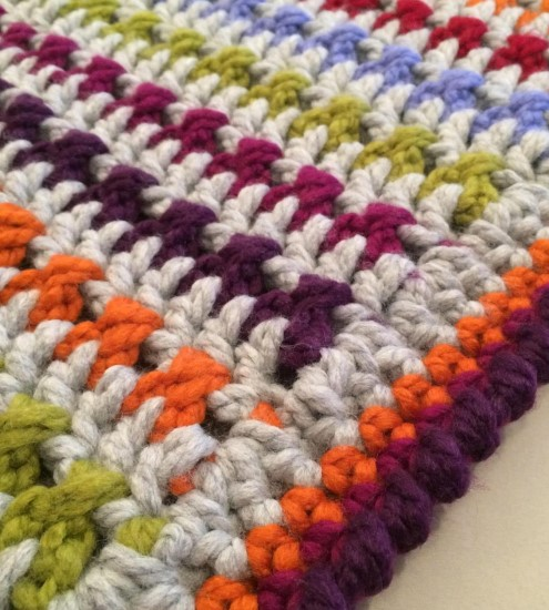 Free Seriously Super Chunky Crochet Blanket Pattern