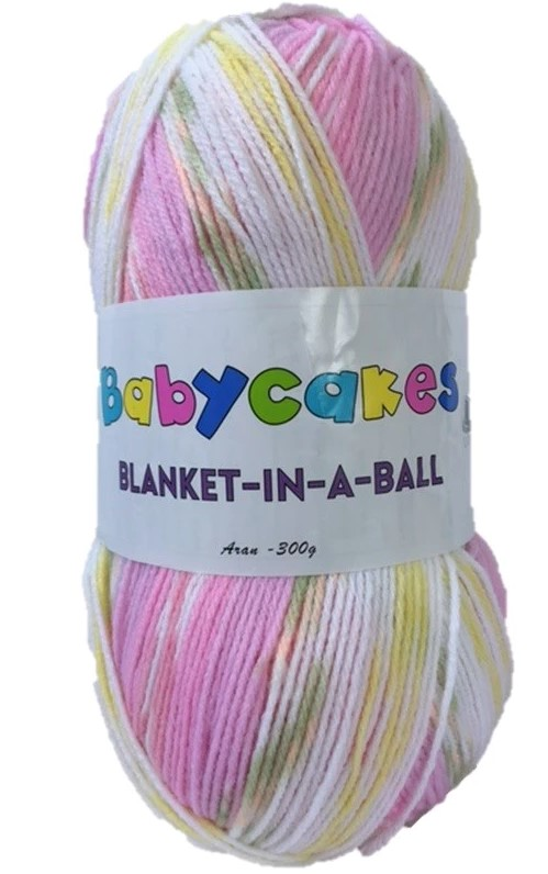 Clearance Cygnet Babycakes Blanket In A Ball 300g Was 163 7