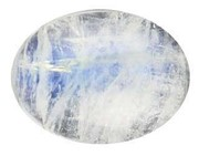 Gemstone Cabochon 18x13 Oval Rainbow Moonstone (click for larger image)