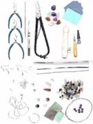 Jewellery Making Kit Silver  (click for larger image)