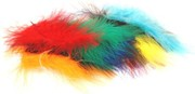 Marabou-turkey Feathers 15cm pack of 20 (click for larger image)