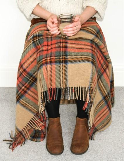 wool blanket online british made gifts antique dress stewart tartan wool knee rug. Black Bedroom Furniture Sets. Home Design Ideas