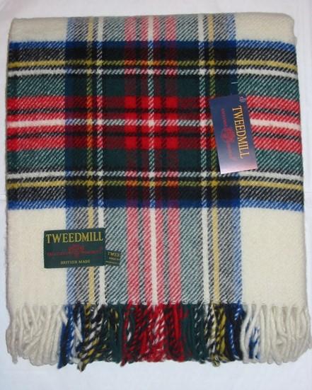 Wool Blanket Online. British Made Gifts. Dress Stewart
