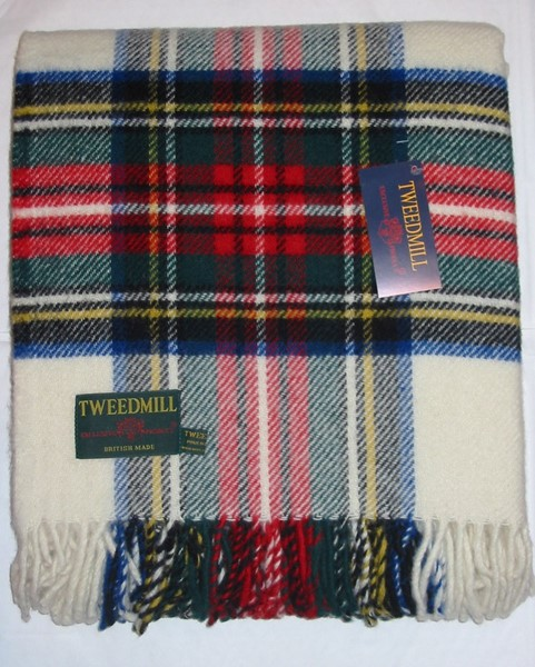 Dress Tweedmill Tartan Knee Rug Thumbnail
